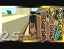 【Minecraft】マイクラの全ブロックでピラミッド Part25【ゆっくり実況】
