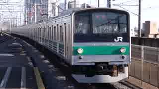 中浦和駅(JR埼京線)を通過・発着する列車を撮ってみた