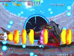 【VGA録画】ダライアス外伝 A-C-F-J-O-U-V' 1コインクリア【2/2】