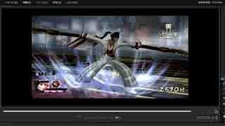[プレイ動画] 戦国無双4-Ⅱの無限城100階目をNODOKAでプレイ