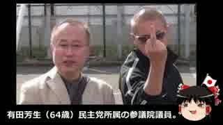 【ゆっくり保守】日本の敵、有田芳生。