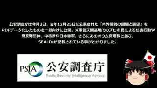 ついに公安監視対象か?SEALDsが公安調査庁のHPに記載される。