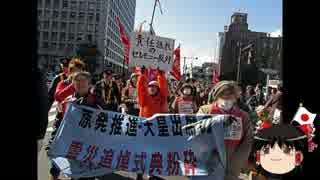 【ゆっくり保守】東日本大震災被害者に黙って黙祷すら出来ない人たち。