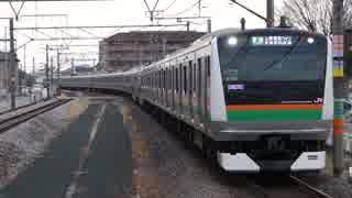 行田駅(JR高崎線)を通過・発着する列車を撮ってみた