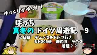 【ゆっくり】ドイツ周遊記 9 ドイツ行き NH209便 機内食その2