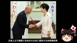 【ゆっくり保守】日本人より韓国人をあからさまに優先する舛添都知事