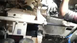 105mmライフル砲を撃つスティングレイ軽戦車(車内視点)