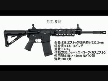 SIG516 アサルトライフル テスト...
