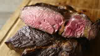 [音フェチ]3種類のステーキソースと肉1キロ