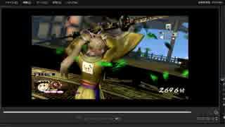 [プレイ動画] 戦国無双4-Ⅱの無限城100階目をRIKKAでプレイ