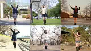 【卒業生6人】桜ノ雨【踊ってみた】