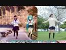 小林幸子歌Ver「桜ノ雨」【初音ミク+卒業生+足太ぺんた】合わせてみた