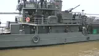 1937年進水で今も現役 ブラジル海軍の砲艦パルナイバ