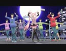 【MMD】FREELY TOMORROW - ラズベリーシャーベットミクとアル虫P式六つ子達