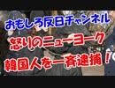 【怒りのニューヨーク】 韓国人を一斉逮捕!