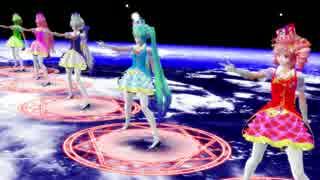 【MMD】Trancing Pulse[ハク・ルカ・ミク・グミ・テト]