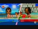 卓球引き分け試合20-20(11Pマッチ熟練度2500)【Wiiスポーツリゾート】