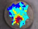 [ゆっくり解説]日本の市区町村を人口密度別に色分け2015 東日本編 thumbnail