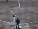 オリックスVS阪神(二軍) マット・ヘイグ選手のバッティング