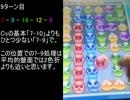 【ぷよクエAC】時なし5色全消し100ターン分 (1~20)