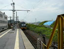 近江鉄道米原駅 ED31の貨車入換(2006/08/19)