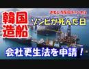 【韓国STX造船海洋破たん】 会社更生手続き開始ニダ!