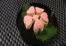 【お弁当にピンクのお花!】ハートのチーズかまぼこ
