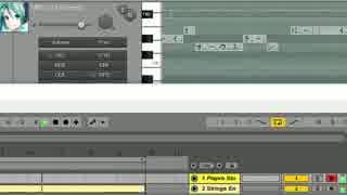 【DTM】Ableton Liveと初音ミクV3の連動テスト【スタンドバイミー】