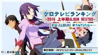 上半期アニソンランキング 2016 ALBUM BEST 65【ケロテレビ】