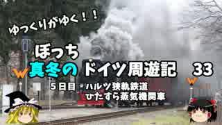 【ゆっくり】ドイツ周遊記 33 ハルツ狭軌鉄道 ひたすら蒸気機関車