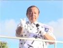 """【沖縄支局】""""日本のこころを大切にする党""""比例代表「ボギーてどこん」による北谷町街頭演説[桜H28/6/25]"""