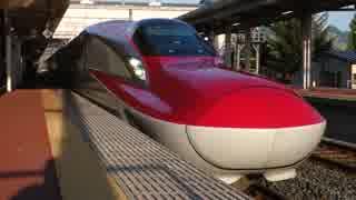 雫石駅(JR秋田新幹線・田沢湖線)を通過・発着する列車を撮ってみた