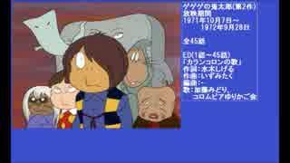 70年代アニメ主題歌集 ゲゲゲの鬼太郎(第2期)
