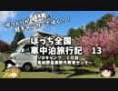 【ゆっくり】車中泊旅行記 13 ぼっちキャンプ その1