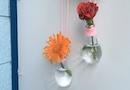 【切れた電球を再利用!】ミニミニ電球花瓶