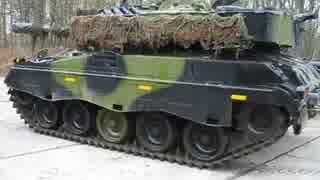 近代化改修されたM41軽戦車 M41DK-1