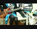 【甘々と稲妻OP】晴レ晴レファンファーレを弾いてみた【ベース】