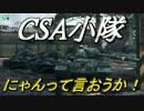 【WoT】AdeninのWoT実況【CSA小隊】ニャん!