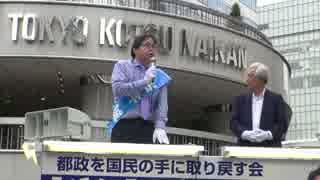 [桜井誠] 東京都知事選 街頭演説 有楽町イ