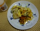 朝食料理祭・台湾料理・培根蛋餅(ペイグンダンピン)