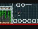 【マリオメーカー】自作コース紹介 魔城[Tokyo X] 高難度ステージ