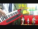 けいおん!!劇中歌 U&I 弾いてみた
