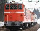 DD14+ばん物客車