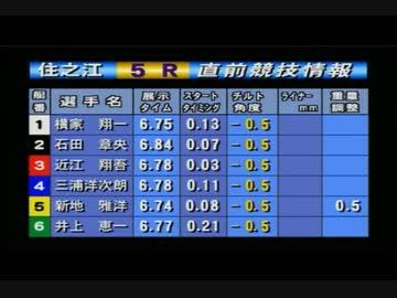 住之江 競艇 場 ライブ