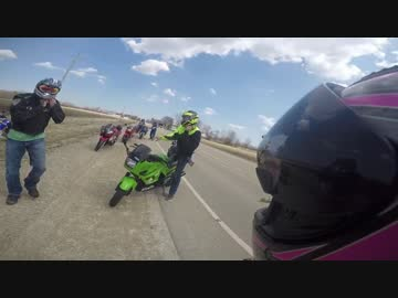 【ニコニコ動画】【衝撃映像】バイクの死亡寸前クラッシュ映像集2016【交通事故】