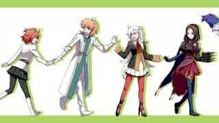 【Fate/GO】カ.ニ.フ.ァ.ン EDトレス【手描き】