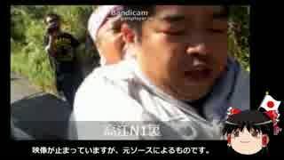 【ゆっくり保守】関西弁を喋る沖縄パヨクが防衛局職員を暴行。