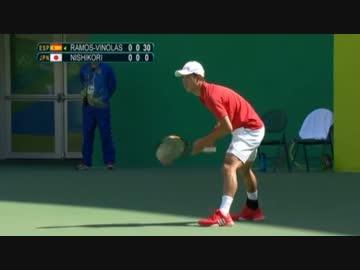 リオオリンピック テニス1回戦 ...