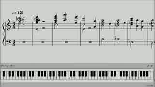 「夜廻」テーマ曲の楽譜を作ってみた【ピアノ】