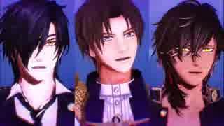【MMD+人力刀剣乱舞】おだて3人が極楽浄土へ誘ってくれるようです thumbnail